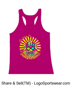 Badger Ladies' B-Core Racerback Tank Design Zoom